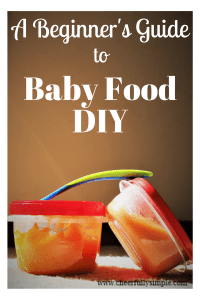 a beginner's guide to baby food diy/ baby food containers and feeding spoon