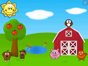 barnyard- educational apps for preschoolers