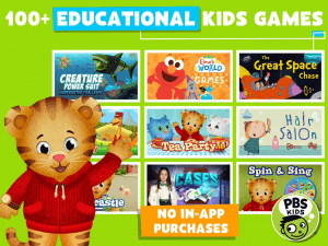 pbs kids games- educational apps for preschoolers