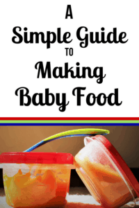 baby food diy pinterest pin