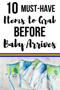 must-have baby necessities pinterest pin