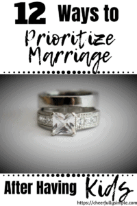 easy ways to make your marriage a priority pinterest pin