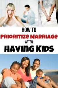 prioritize marriage after having kids