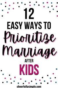 marriage and kids pinterest pin