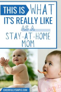 what do stay-at-home moms do all day