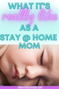 the life of a stay=at-home-mom pinterest pin