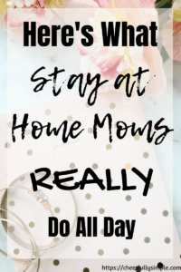 what stay-at-home-moms do all day pinterest pin