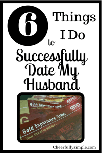 6 Things I Do to Successfully Date My Husband