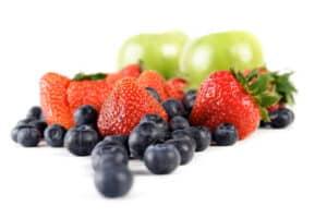 fresh picked fruit