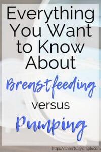 breastfeeding versus pumping pinterest pin