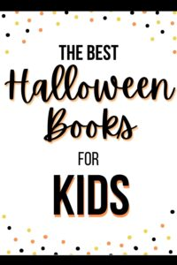 the best halloween books for kids pinterest pin