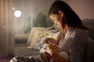 breastfeeding while sick mother breastfeeding baby