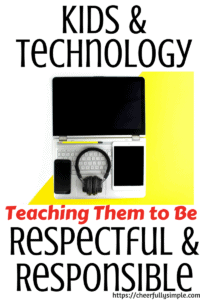 kids and technology pinterest pin