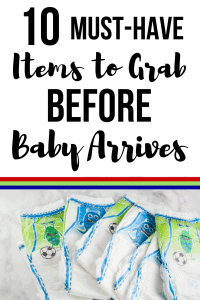 diapers/ must-have baby items to grab before baby arrives