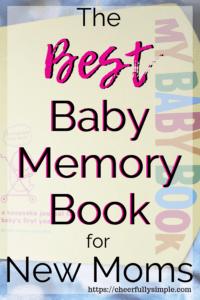 best baby memory book pinterest pin