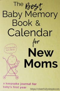 best baby memory book for new moms pinterest pin