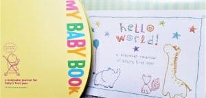 best baby memory book and calendar