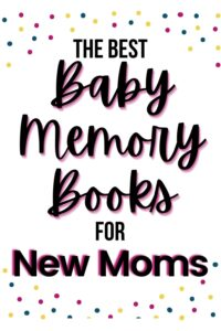 best baby memory book and calendar pinterest pin
