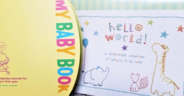 The Best Baby Memory Book and Calendar for New Moms