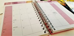 best planner for moms/ monthly calendar view