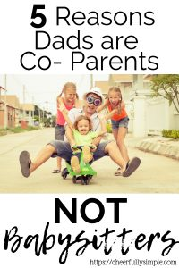 fathers role in parenting/dad with kids
