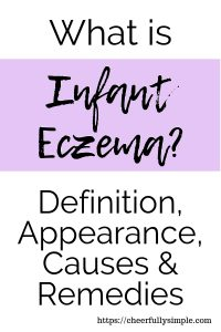 what is infant eczema? definition, appearance, causes and remedies