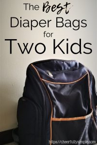 best diaper bag for two kids 1