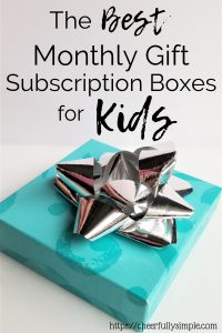 monthly gift box subscription for kids