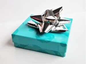 gift box with bow on top