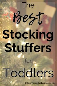 the best stocking suffers for toddlers pinterest pin