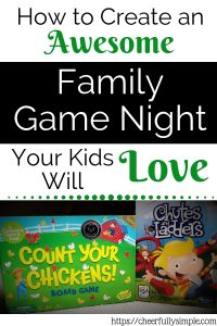 family game night pinterest pin
