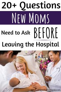 postpartum questions to ask for new moms pinterest pin