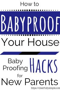 baby proofing hacks pinterest pin