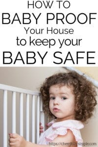 how to babyproof your home pinterest pin