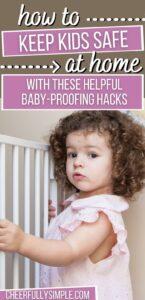 baby-proofing hacks pinterest pin