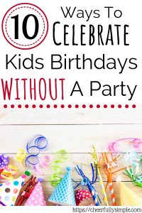 how to make birthdays special at home pinterest pin