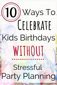 how to make birthdays memorable at home pinterest pin