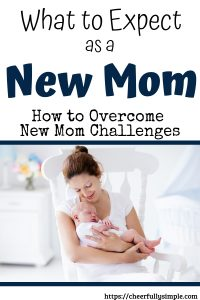 how to overcome new mom challenges