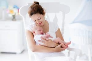 new mom challenges- mother and new baby