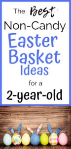 easter basket ideas for a 2 year old pinterest pin