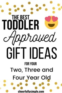 what toddlers want for Christmas pinterest pin