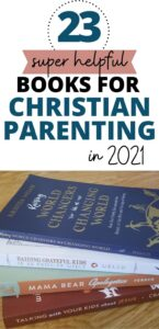 pinterest pin for christian parenting books
