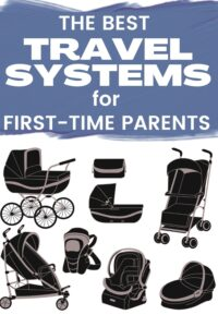 how to find the best travel system for baby pinterest pin