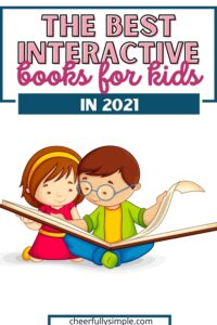interactive books for kids pinterest pin