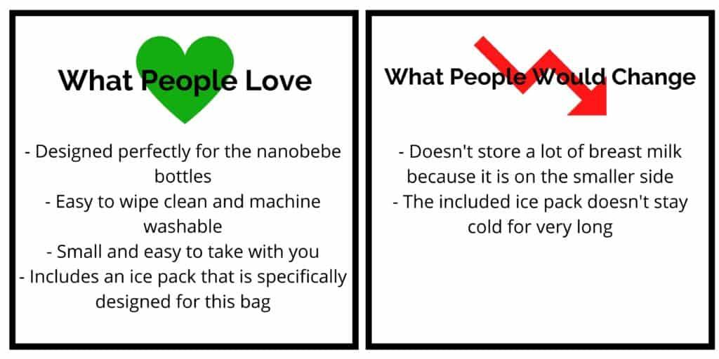 nanobebe cooler bag review