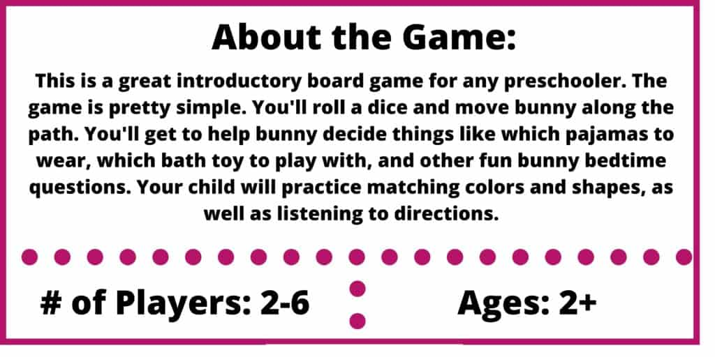 bunny bedtime game review