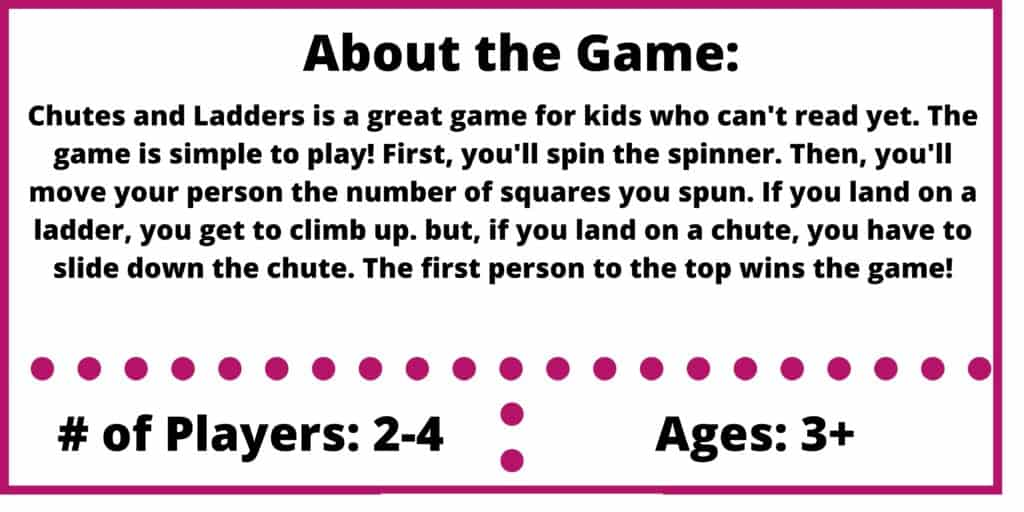 chutes and ladders game review