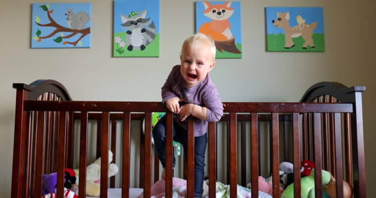 How to Keep a Toddler From Climbing Out of Their Crib