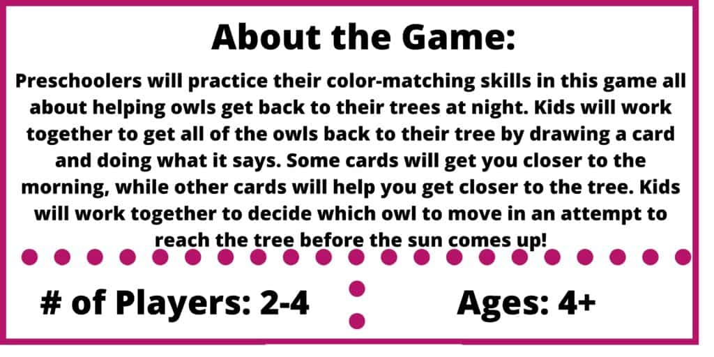 hoot owl hoot game review