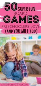 board games for preschoolers pinterest pin